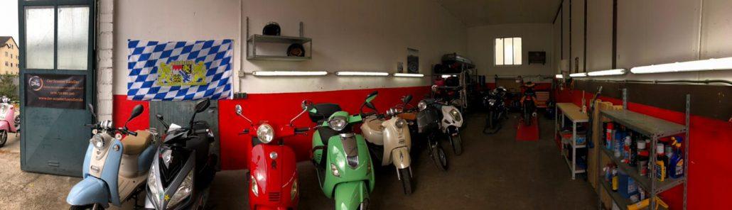An- und Verkauf von Motorroller & Scooter