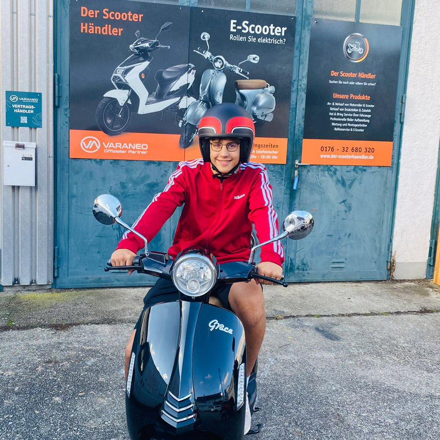 Lukas E-Roller vom Scooterhändler